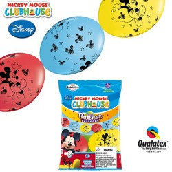 Banner Party din Baloane Cony Mickey Mouse - 3m, Qualatex 15101
