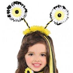Children Bumblebee Fairy Head bopper, Amscan 842030-55, 1 piece